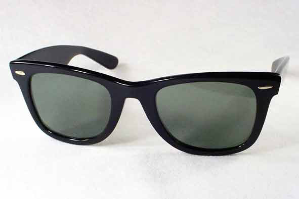 vintage ray-ban : 1960's Ray-Ban Wayfarer by BAUSCH & LOMB