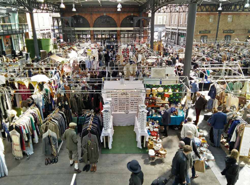 Old Spitalfields Antiques & Flea Market