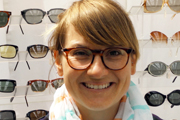 vintage eyewear: 1960s mock tort frame MADE IN ENGLAND
